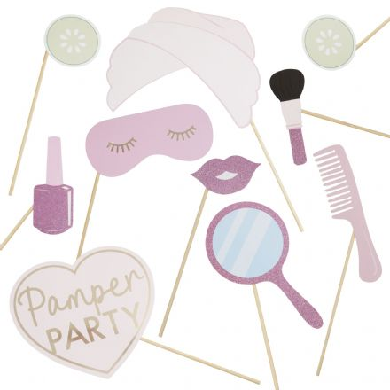 Pamper Party, Pink Sleepover Party Props